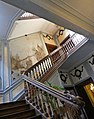 18 June 1815 – Victory at Waterloo – Lord Wellington in Ghent, Hotel Clemmen, staircase.jpg