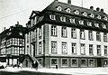 1920 circa Evangelisch-lutherisches Landeskirchenamt Hannover, Königliches Konsistorium am Neustädter Markt, Calenberger Straße 34, Blick in Richtung Rote Reihe.jpg