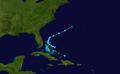 1931 Atlantic tropical storm 9 track.png