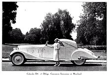 Chapron Delage D8 120 Cabriolet 1938 - Delage (1905-1953 ...