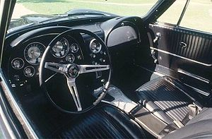 Chevrolet Corvette (C2) - 1963 Corvette Sting Ray interior