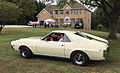 1968 AMC AMX 390 GO PAC in white at Potomac Ramblers meet - side.jpg