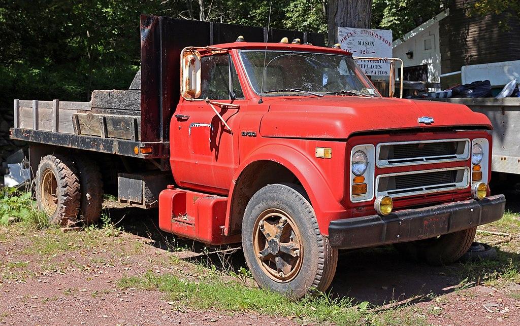 File 1971 Chevrolet C50 Dump Truck Roxbury Ny Jpg