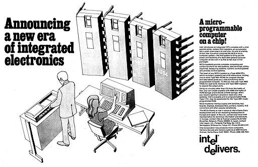1971 Intel Advertisement