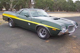 Ford Ranchero - 1972 Ford Ranchero GT