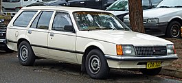 Holden VC Commodore L station wagon