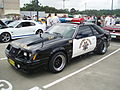 1983 Ford Mustang Police Interceptor coupe (5410385050).jpg