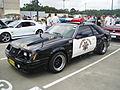 1983 Ford Mustang Police Interceptor coupe (5410385050).jpg
