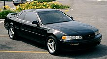 1995 Acura Legend Coupe L Series With Aftermarket Wheels And Tires
