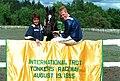 1995 vann Stefan Melander VM med His Majesty.jpg