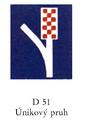 1997 CZ D 51 Únikový pruh.png