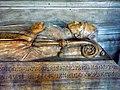 1 Tomb in ambulatory, detail, Notre Dame in Paris, ZM.JPG