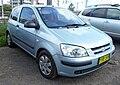 2002 Hyundai Getz (TB) GL 3-door hatchback (2009-11-13) 01.jpg