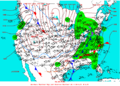2004-01-18 Surface Weather Map NOAA.png