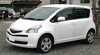 Toyota Ractis - 2005–2007 Toyota Ractis (Japan)