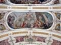 20050903070DR Toblach (Bozen) Pfarrkirche Johann Baptist Deckenfresko.jpg