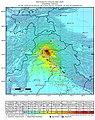 2005 Kashmir earthquake shakemap.jpg