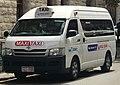 2006-2009 Toyota HiAce (TRH223R) Commuter van, Swan Taxis Maxi Taxi (2018-03-13).jpg