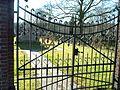 2008 Silvolde alter jüdischer Friedhof Tor.jpg