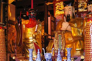 City God Temple of Shanghai - One of the altars of the temple