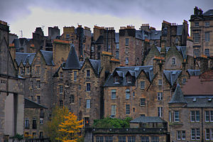 Tron riot - The crowded tenements of Edinburgh's Old Town