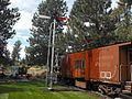 20111008 Train Order Semaphore Signal K-WRR Train Mtn 0002.JPG