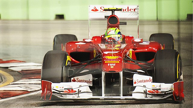 2011 Singapore GP - Felipe Massa