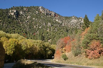 Logan Canyon - Logan Canyon Scenic Byway