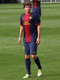 2012 2013 - Sergi Roberto - Flickr - Castroquini-FCB.jpg. Roberto playing  for Barcelona ... 593a1b41b37