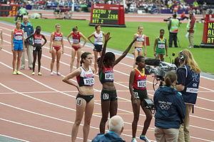 2012 Olympics - Womens 5000m start 4
