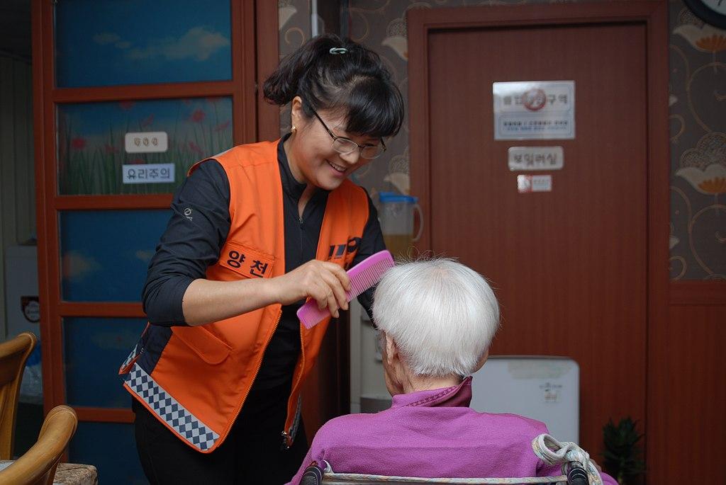 2013년 10월 서울소방 사진공모전 사진 모음 의용소방대 어르신 목욕봉사
