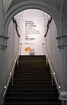 2013-09-07 -11-10 Ausstellung des MAK Wien im Künstlerhaus Hannover, ZEICHEN, GEFANGEN IM WUNDER. Auf der Suche nach Istanbul heute, Künstler-Namen im Treppenhaus.jpg