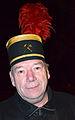 2013-12-21 9. Nachbarschaftstreffen Schwalbenberg, Celle, Günter Dreblow, seit 2009 Vorsitzender der Kapelle des Musikzuges Celler Knappen e.V.jpg