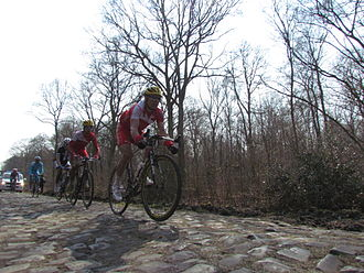 Cofidis (cycling team) - 2013 Paris - Roubaix, Forest of Arenberg