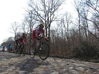 Cofidis (cycling team) - 2013 Paris - Roubaix, Forest of Arenberg
