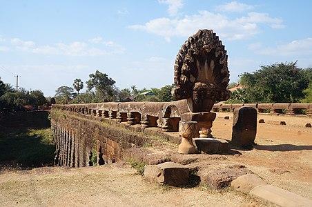 Kompong Kdei  Bridge (12e siècle)  Spean Praptos  Angkor Thom, au Cambodia