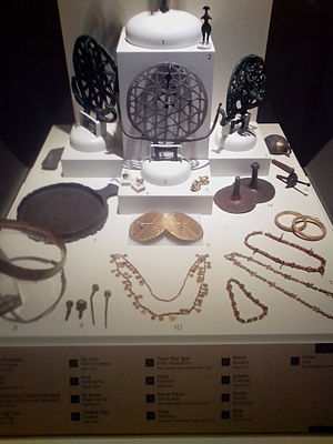 Hittites - Jewelry from Museum of Anatolian Civilizations.
