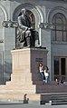 2014 Erywań, Pomnik Hovhannesa Tumaniana (04).jpg