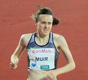 Laura Muir - Muir in 2016