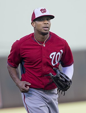 Ben Revere - Revere with the Washington Nationals in 2016