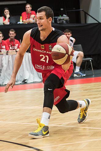 Basketball Bundesliga Best German Young Player - Paul Zipser was the Basketball Bundesliga Best Young German Player in 2016.