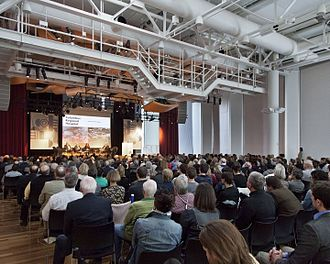 Exhibit Columbus - Keynote Session featuring Deborah Berke, Will Miller, and Robert Stern
