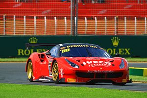 2017 Liqui Moly Bathurst 12 Hour - The race and Class AP-winning Ferrari 488 GT3 of Toni Vilander and V8 Supercars Legends  Craig Lowndes and Jamie Whincup.