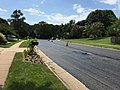 2017-08-24 12 54 06 View south along Stone Heather Drive just north of Lady Bank Lane in the Chantilly Highlands section of Oak Hill, Fairfax County, Virginia during repaving.jpg