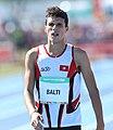 2018-10-16 Stage 2 (Boys' 400 metre hurdles) at 2018 Summer Youth Olympics by Sandro Halank–040.jpg
