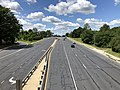 2019-08-25 12 28 45 View west along U.S. Route 40 (Baltimore National Pike) from the overpass for Interstate 695 (Baltimore Beltway) on the edge of Woodlawn and Catonsville in Baltimore County, Maryland.jpg