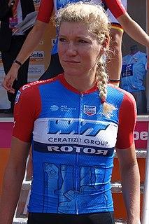Claudia Koster Dutch cyclist