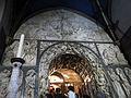 204 Basílica de Montserrat, retaule d'alabastre de la Porta Angèlica, d'Enric Monjo.JPG
