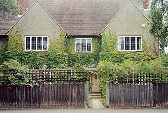 Tolkiens Haus in Oxford, wo The Hobbit entstand