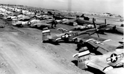 21st Fighter Group P-51s at Iwo Jima 2 - 1945
